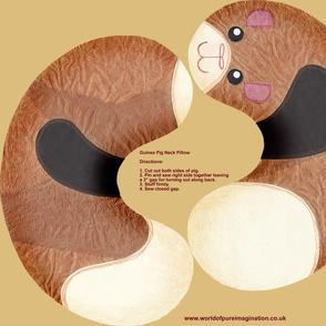 Guinea Pig Neck Pillow