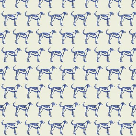 Le Chien fabric by ragan on Spoonflower - custom fabric