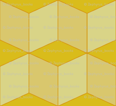 Colorful Tessellated Squares - Yellow