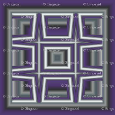 Plum Tiled Grid © Gingezel™ 2012