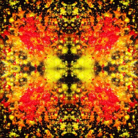 Sunburst fabric by tshereeart on Spoonflower - custom fabric