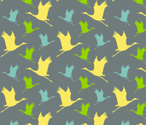 heron_pattern fabric by bex-o'neill on Spoonflower - custom fabric