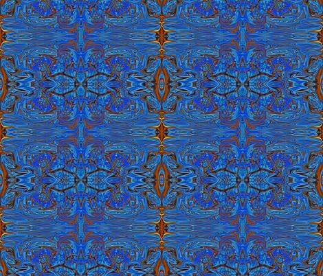 flower carpet swirl fabric by melforrest on Spoonflower - custom fabric
