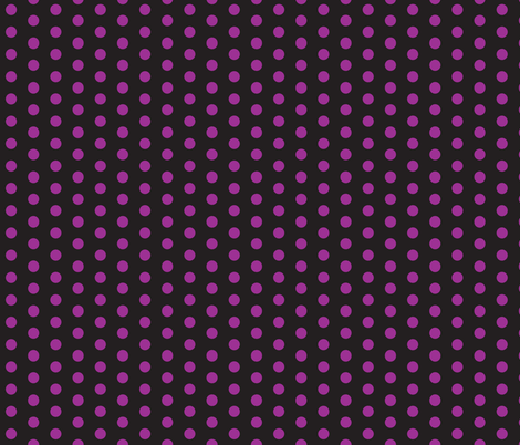 dots  purple/black fabric by painter13 on Spoonflower - custom fabric