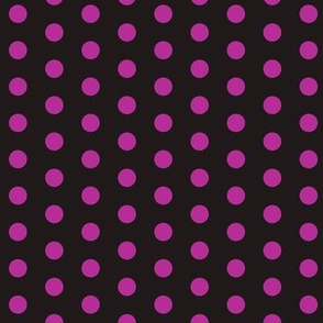 dots  purple/black