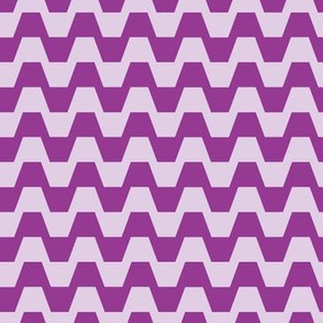 Trapezium in purple
