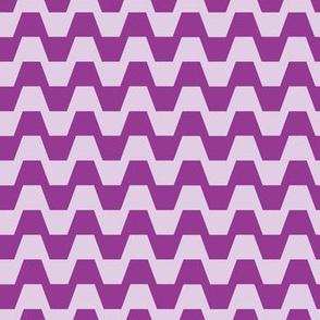 Trapezium in purple