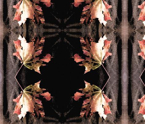 Autumn Glow - Railroad stripe - Muted Beauty fabric by tequila_diamonds on Spoonflower - custom fabric