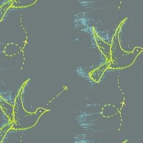 Chalkboard Lines of Flight