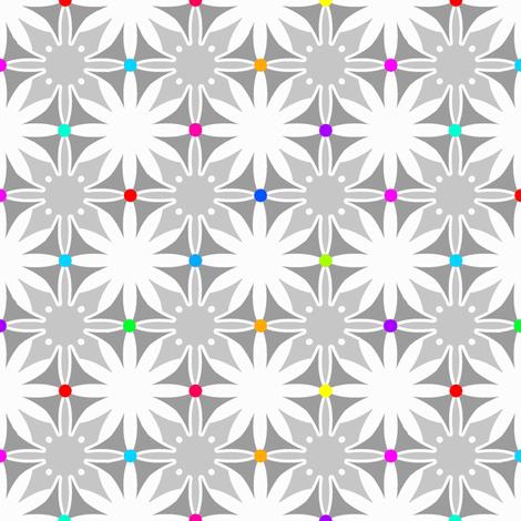 Maltese daisy chain fabric by keweenawchris on Spoonflower - custom fabric