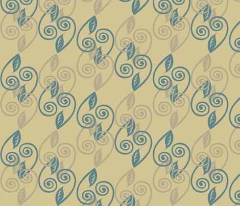 tendrils fabric by glimmericks on Spoonflower - custom fabric