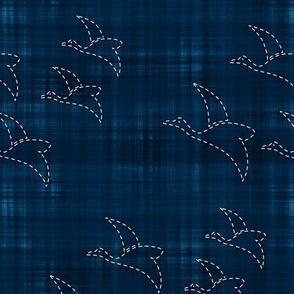 Sashiko: Tori - Birds