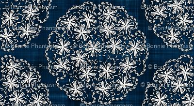 Sashiko: Yukiwa - Flower balls