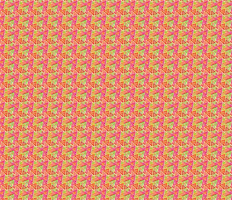 Triangles Bollywood fabric by manureva on Spoonflower - custom fabric