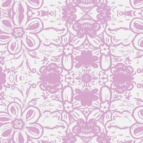 Kids room purple