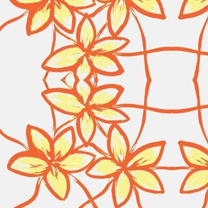 Three flowers r&y