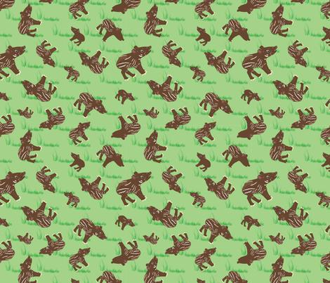 Tapir_Swatch fabric by dianakreider on Spoonflower - custom fabric