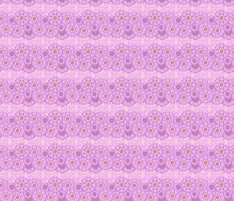 Latticework Flowers fabric by olumna on Spoonflower - custom fabric
