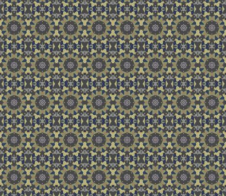 Prairie Wagon Wheels fabric by anniedeb on Spoonflower - custom fabric