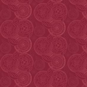 Kerchief in Cranberry