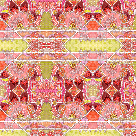 Autumn in New Hampshire fabric by edsel2084 on Spoonflower - custom fabric