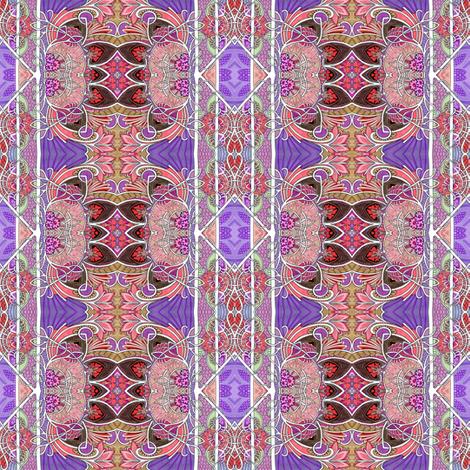 Wallflower Power fabric by edsel2084 on Spoonflower - custom fabric