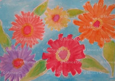 IMG_2675 Watercolor Zinnias