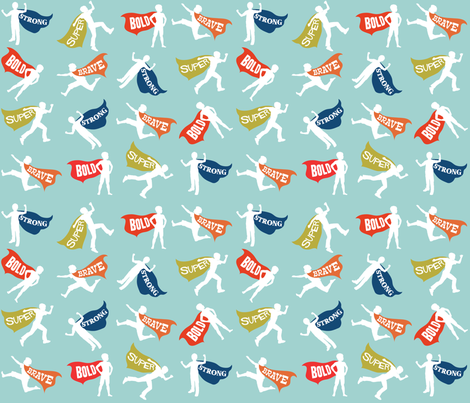 What Little Boys Are Made Of fabric by paperstories on Spoonflower - custom fabric
