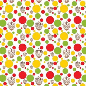 Acorn Polk-a-Dots