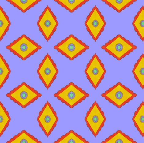 diamond_desgn_4 fabric by empressoffabrics on Spoonflower - custom fabric