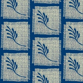Linen leaf  larger version