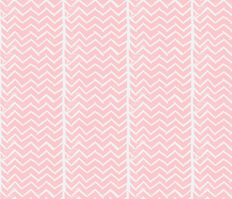 chevron-hand-carved-stamp-2-ch-ch-ch-ch fabric by owlandchickadee on Spoonflower - custom fabric