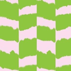 Icebox cookies-  green & pink
