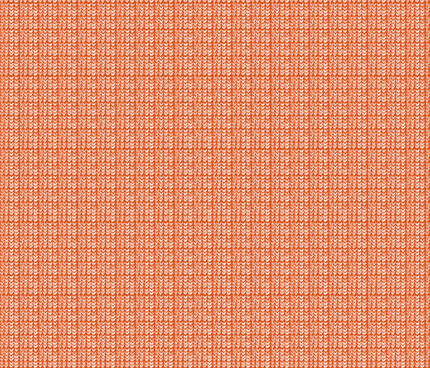 Hand Knit - 12 Pumpkin Reverse fabric by katvanwin on Spoonflower - custom fabric