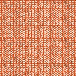 Hand Knit - 12 Pumpkin Reverse
