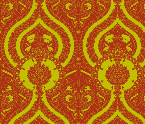 Serpentine 902c fabric by muhlenkott on Spoonflower - custom fabric