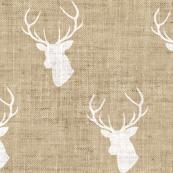 Tan Deer Linen Texture
