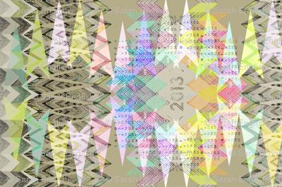 2013 Geometry Tea Towel Calendar