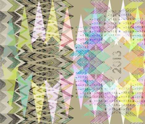 2013 Geometry Tea Towel Calendar fabric by pattern_state on Spoonflower - custom fabric