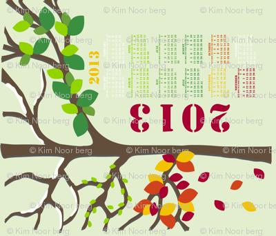 Four Seasons Tree 2013 Calendar