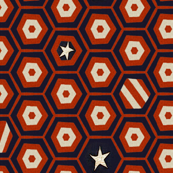 Stars and Stripes- hexagons