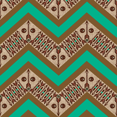 Southwest Chevron fabric by paragonstudios on Spoonflower - custom fabric