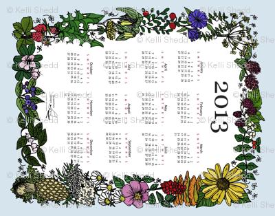 Wildflower_Tea_Towel_2013