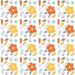 Whimsical Vintage Flowers