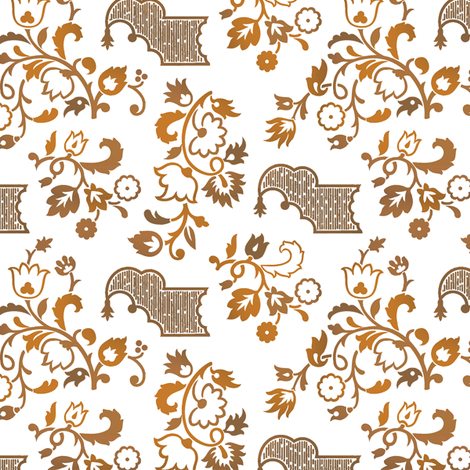 Rococo 1a fabric by muhlenkott on Spoonflower - custom fabric