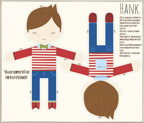 HANK fabric by stacyiesthsu on Spoonflower - custom fabric