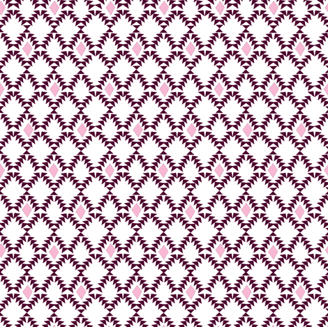 Boho Diamonds fabric by fable_design on Spoonflower - custom fabric
