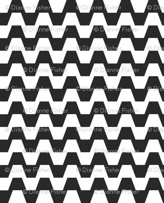 Trapezium in black and white