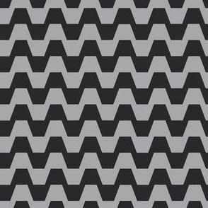 Trapezium in black and grey