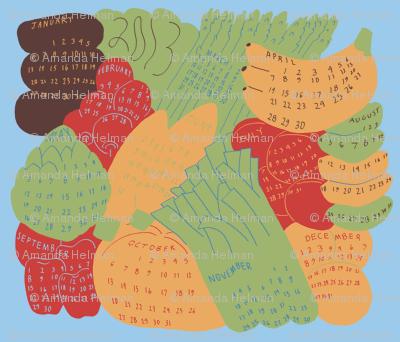 A Year of Fresh Produce - Eat In Season!